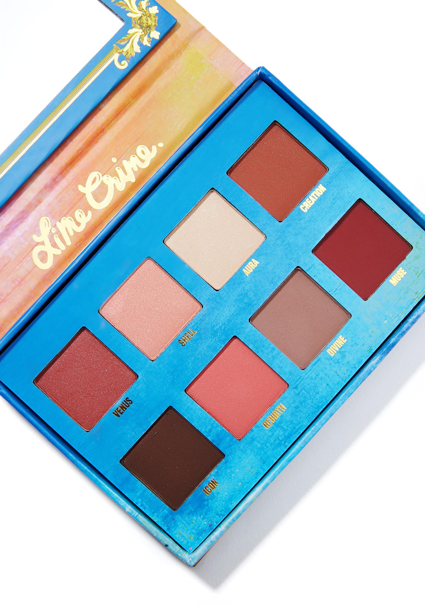 Eyeshadow Palette: Lime Crime Venus Eyeshadow Palette