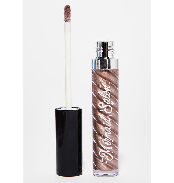 Mermaid Salon Champagne Metallic Liquid Lipstick