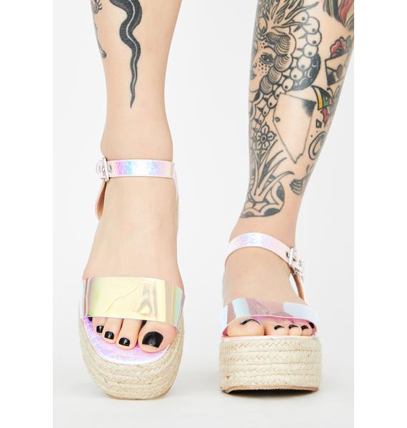 Sunny Daze Platform Sandals