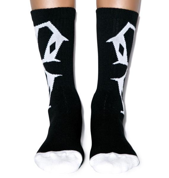 Rebel8 Tilted 8 Socks