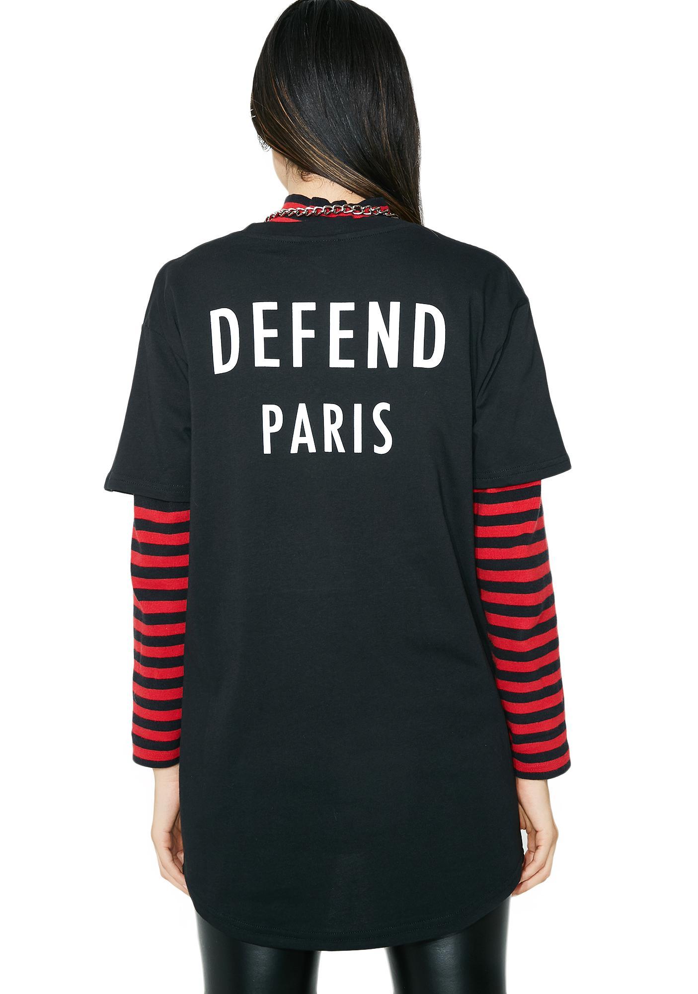 Defend Paris Toby Tee