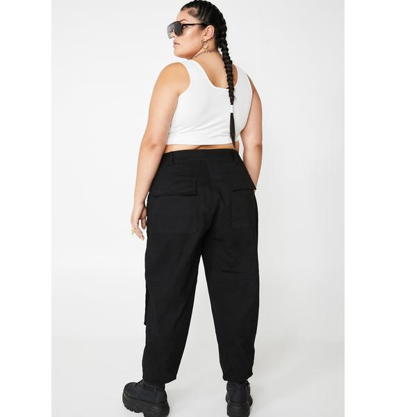 Poster Grl Honestly Get Real Cargo Pants