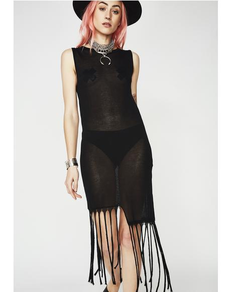 Freaky Friday Fringe Dress