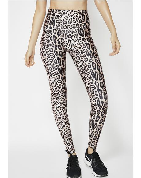 Leopard High Rise Leggings