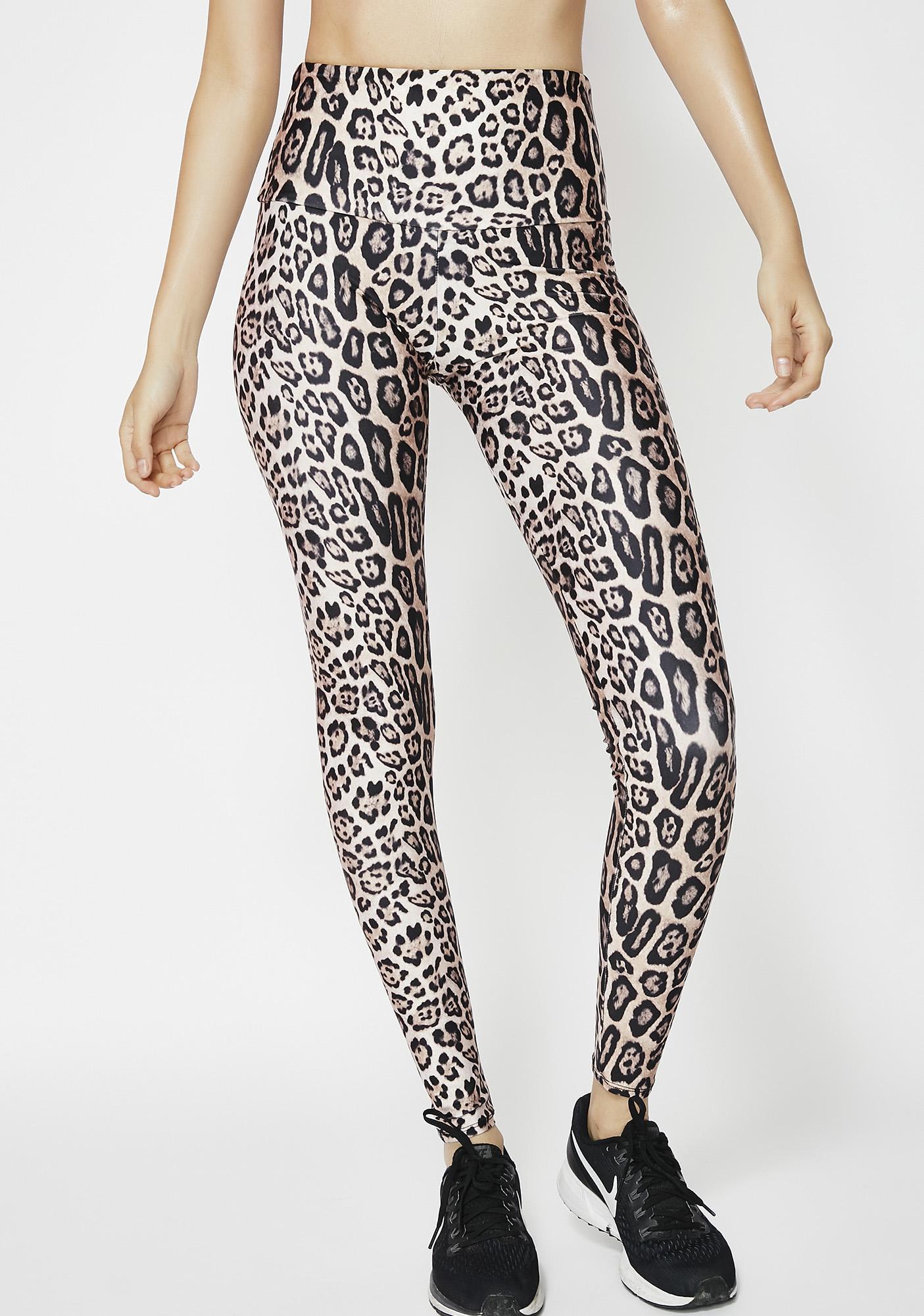 ONZIE Leopard High Rise Leggings