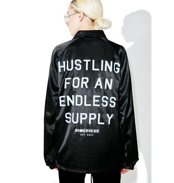 Dimepiece Supply Satin Coach Jacket