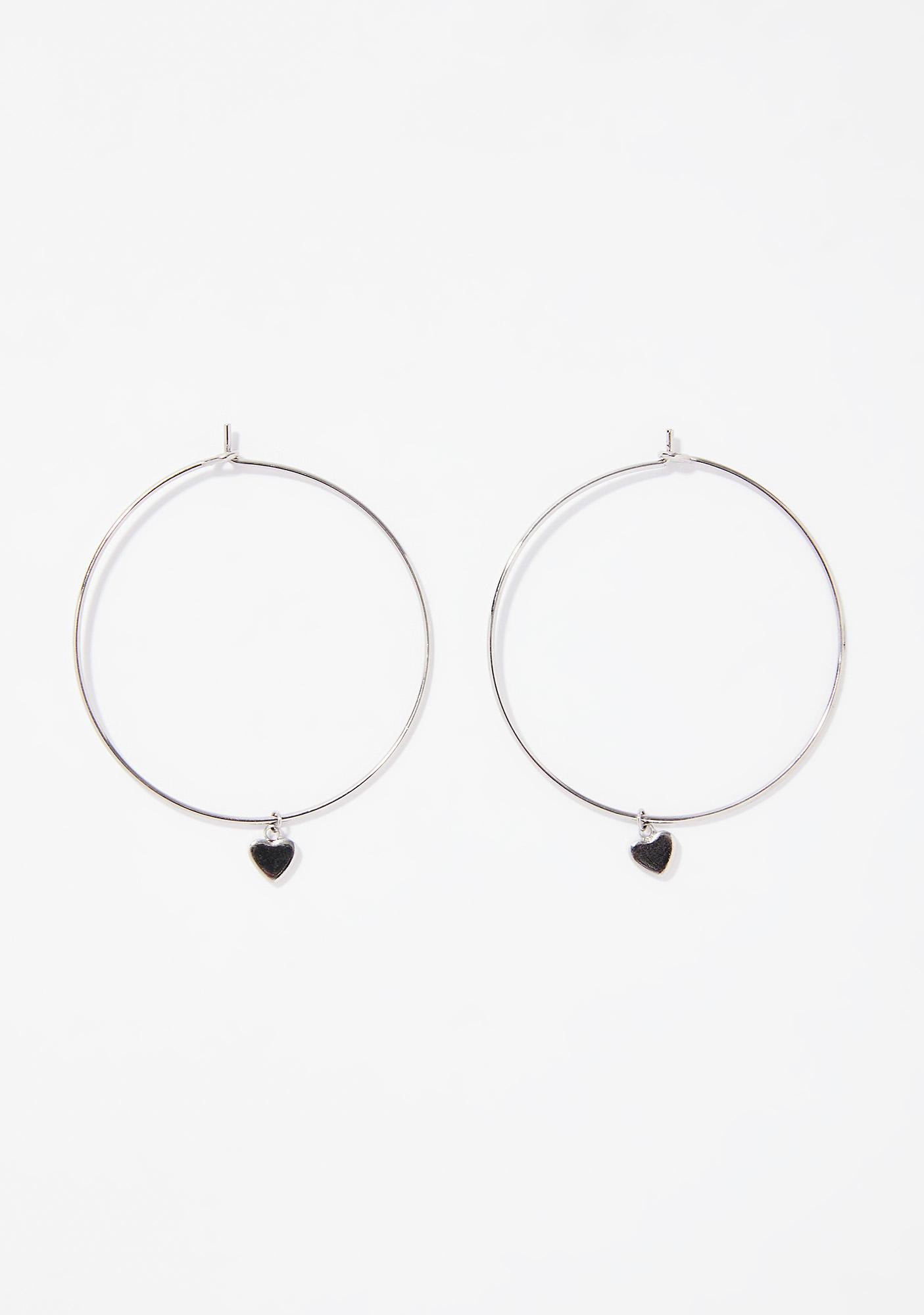 Bad Romance Hoop Earrings