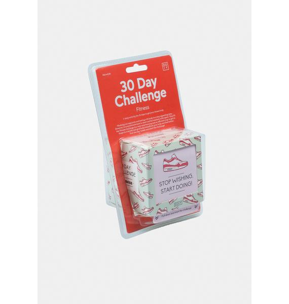 Fitness 30 Day Challenge Box