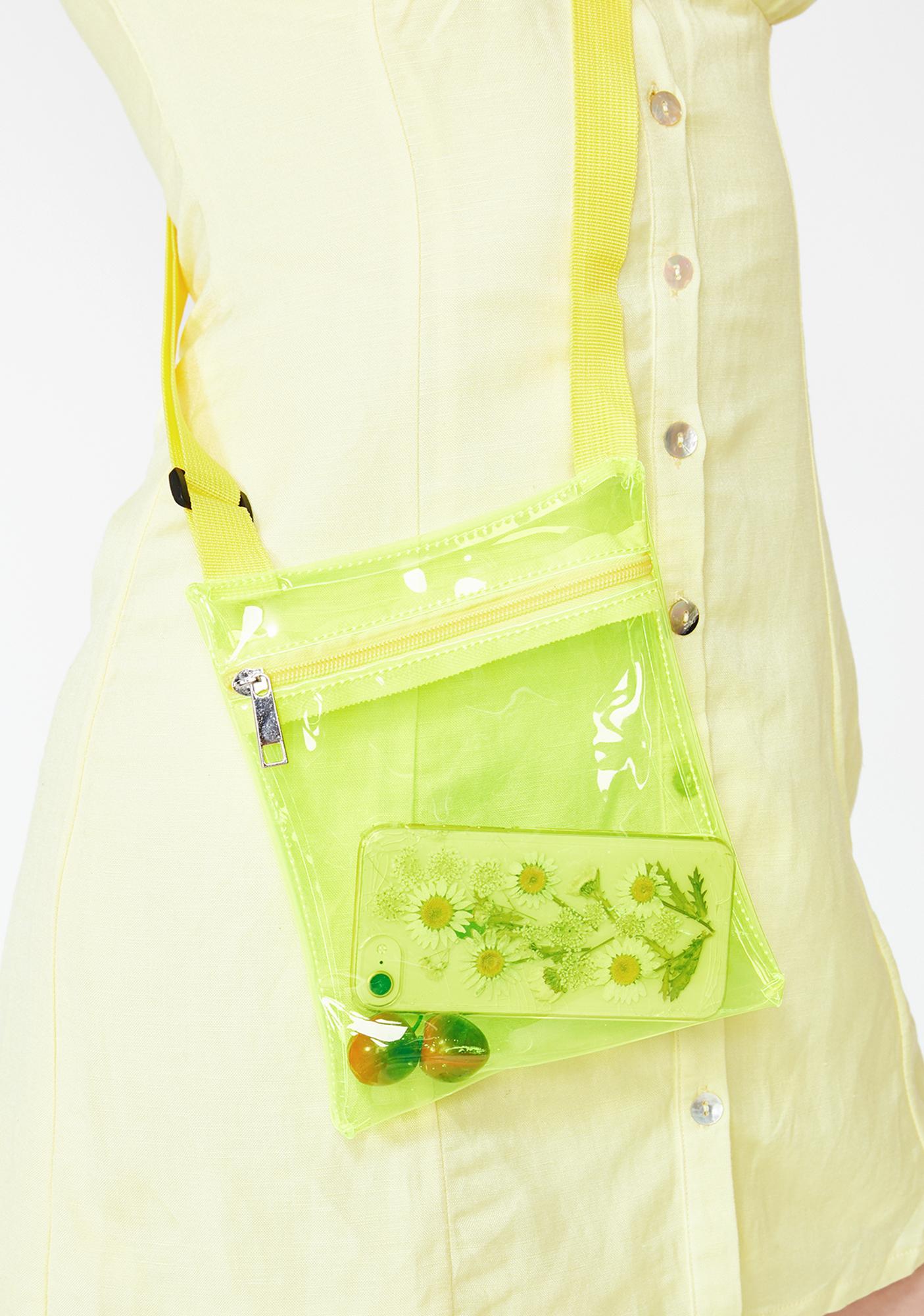 Lemon Lollipop Electro Crossbody Bag