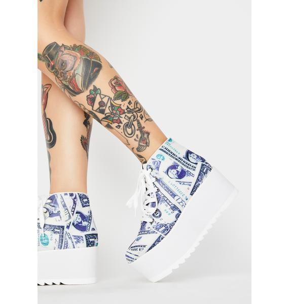 Lemon Drop by Privileged Barletta Platform Sneakers