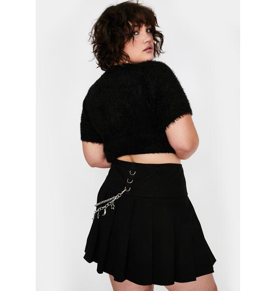 HOROSCOPEZ Atomic Astral Projection Pleated Skirt
