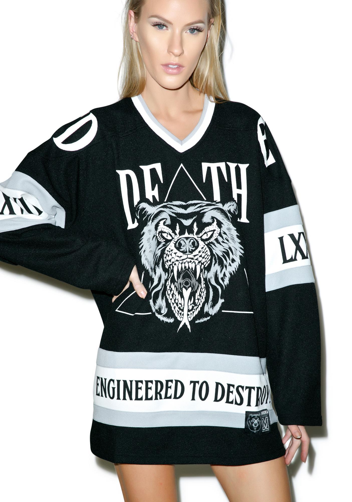Mishka Lamour Supreme Death Adder Hockey Jersey