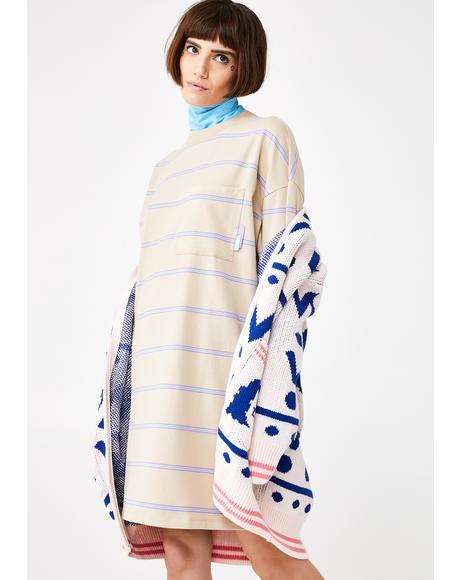 Open Tabs Sweater Dress
