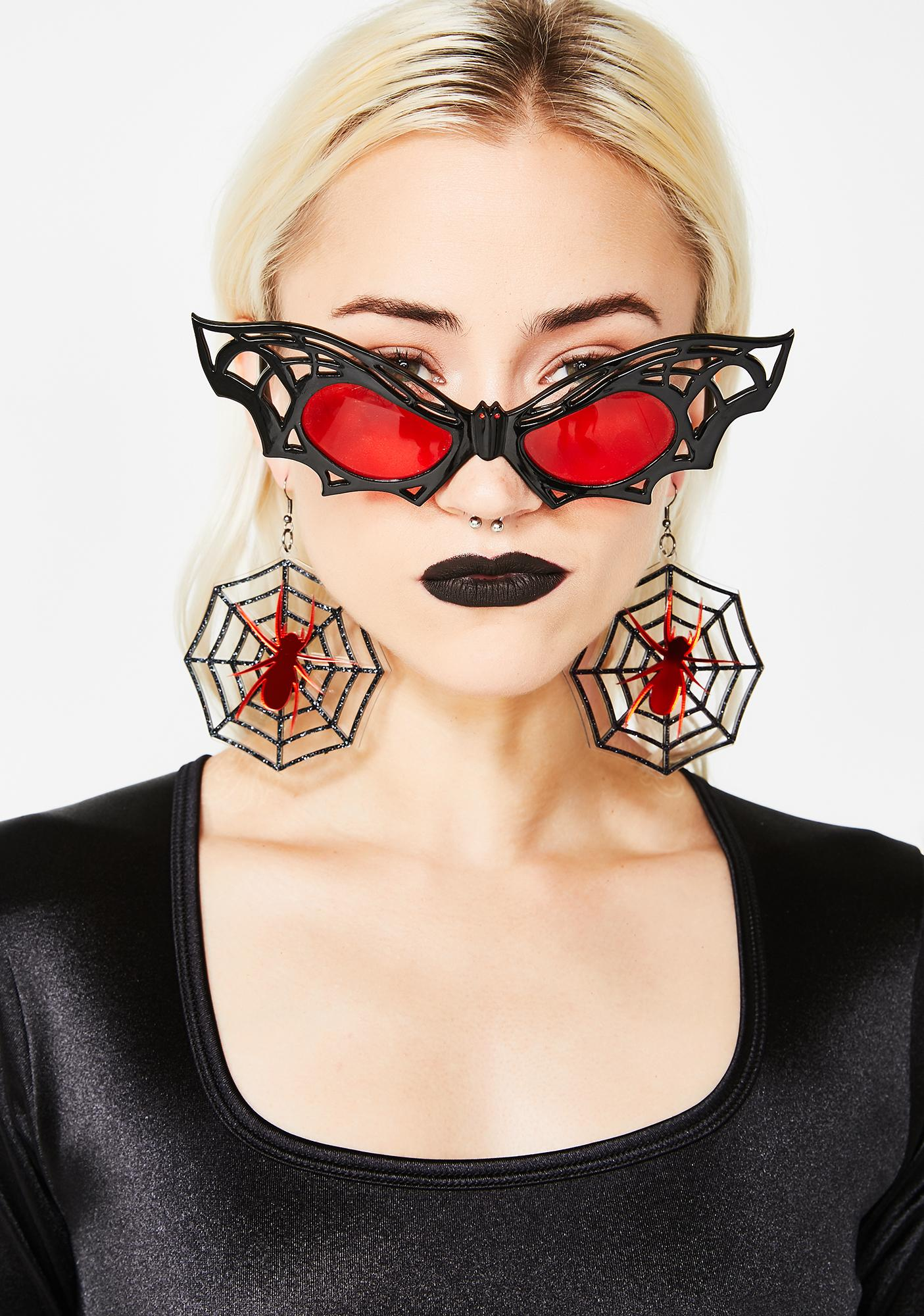 Web Crawler Spider Earrings