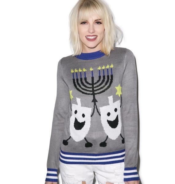 Tipsy Elves Hanukkah Sweater