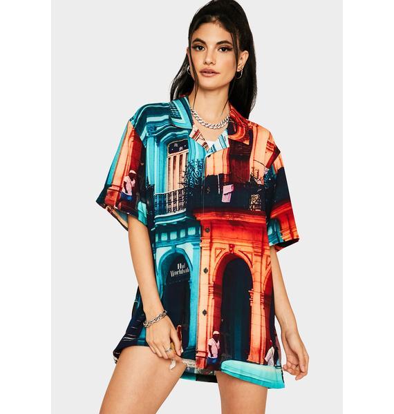 HUF Havana Resort Button Up Shirt