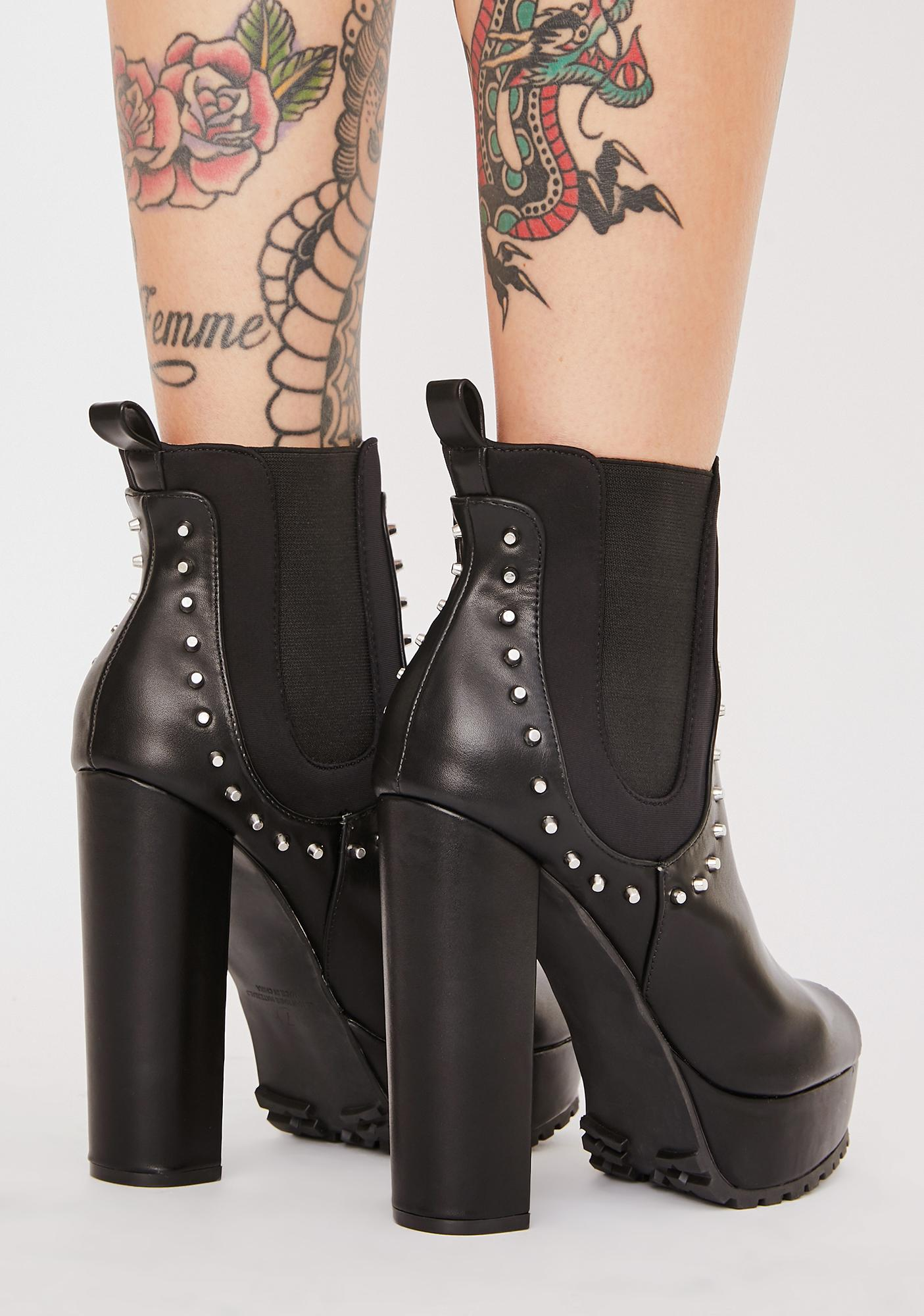 Whatz My Name Ankle Boots