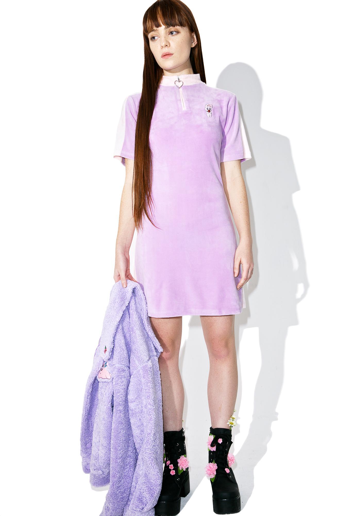 Lazy Oaf Esther Loves Oaf Sports Bunny Dress