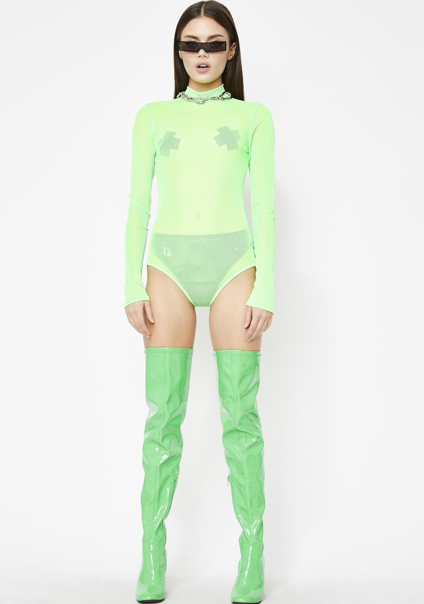 b31a668376 ... Slime Party Season Mesh Bodysuit ...