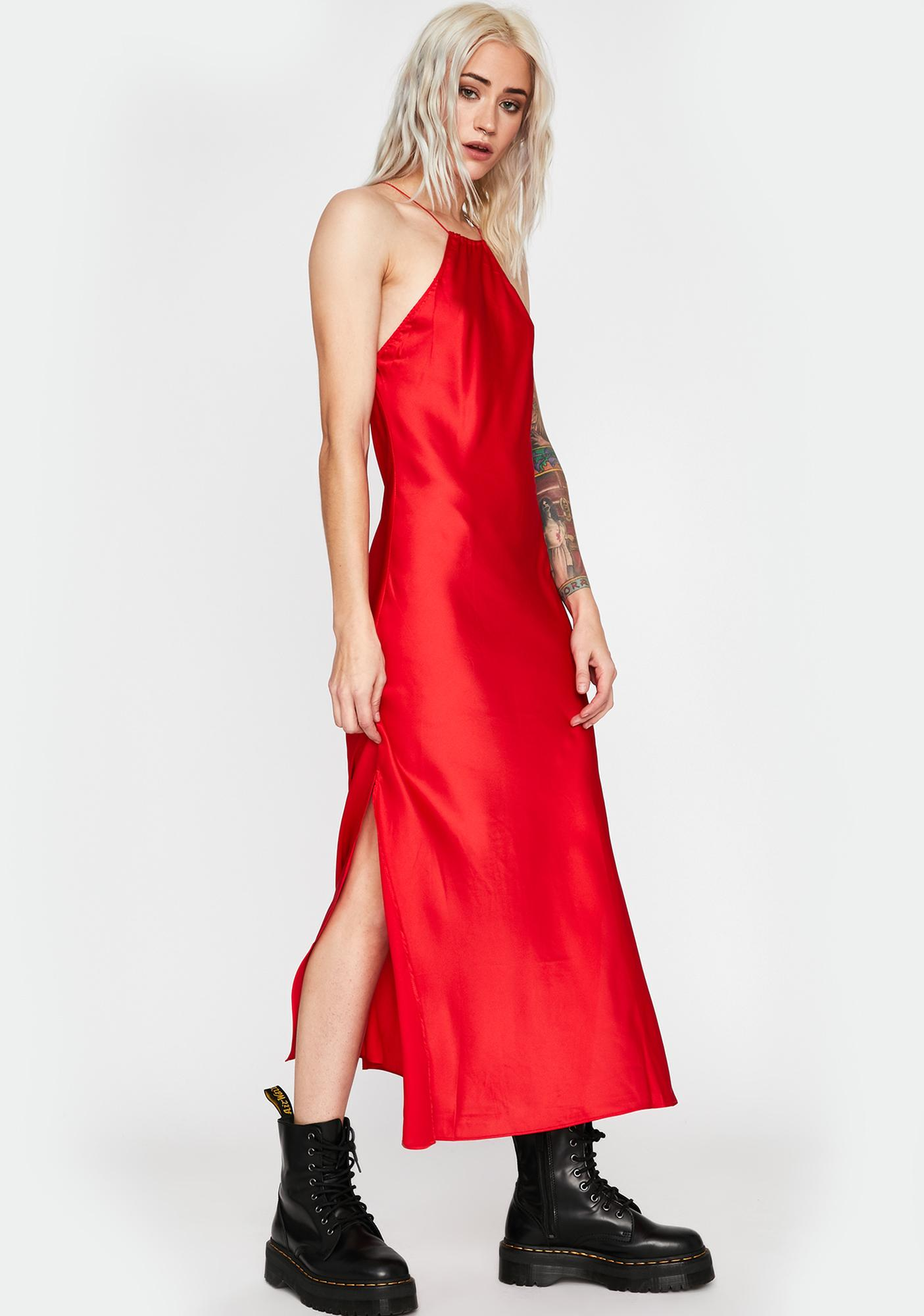 Fire Life Of The Party Maxi Dress