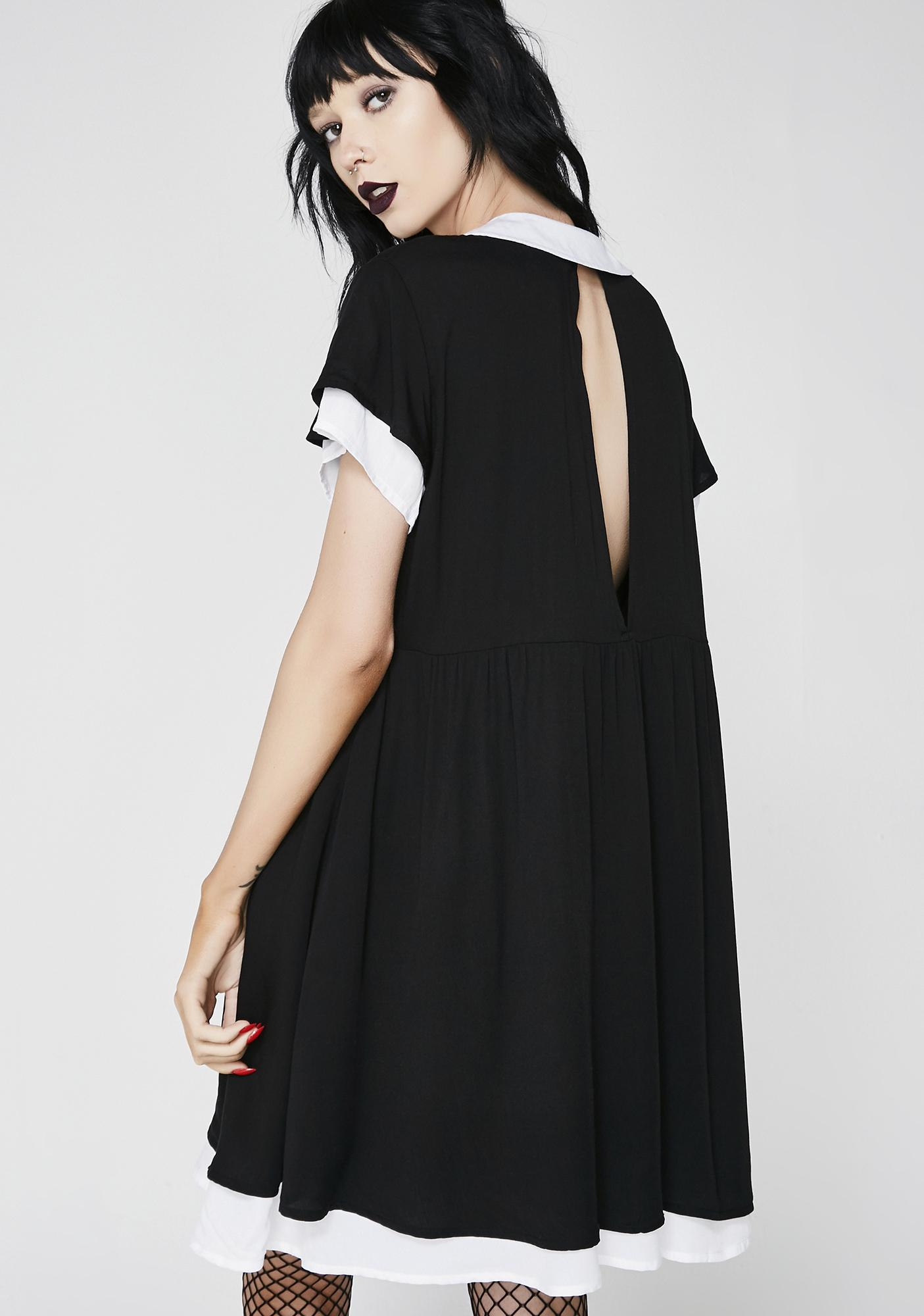 Disturbia Hettie Collared Dress