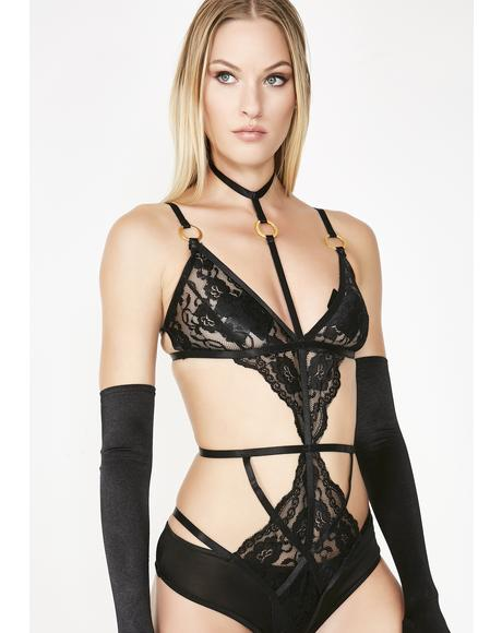 Unholy Lover Lace Bodysuit