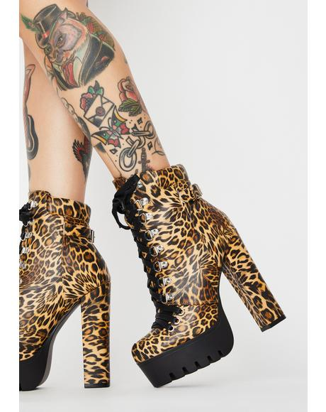 Killa Wicked Intentions Heeled Booties