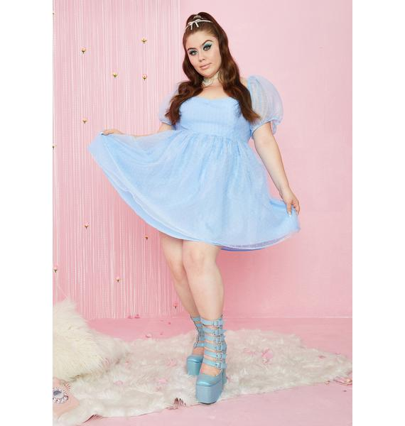 Sugar Thrillz Her Complicated Courtship Babydoll Dress