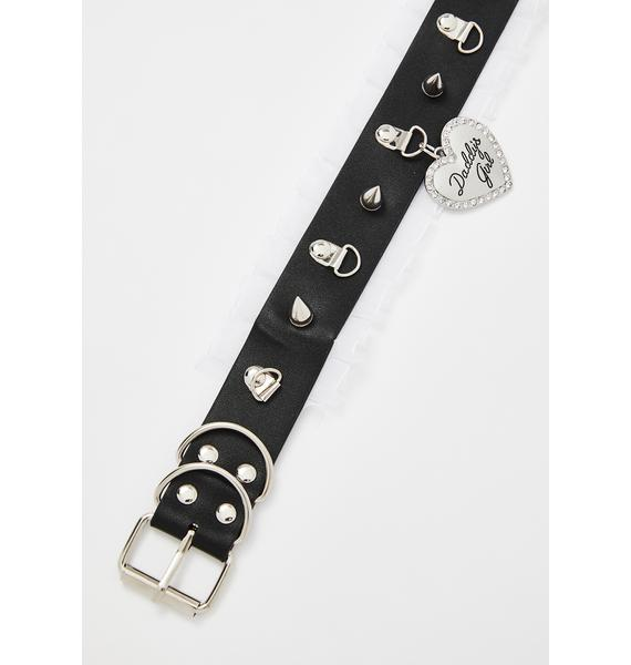 Spoiled Rotten Spiked Choker