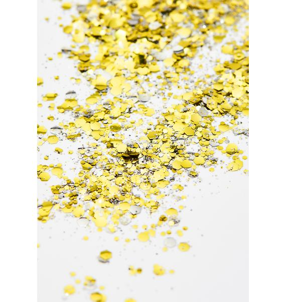 Disco Dust London Champagne Mix Extra Chunky Bio Glitter