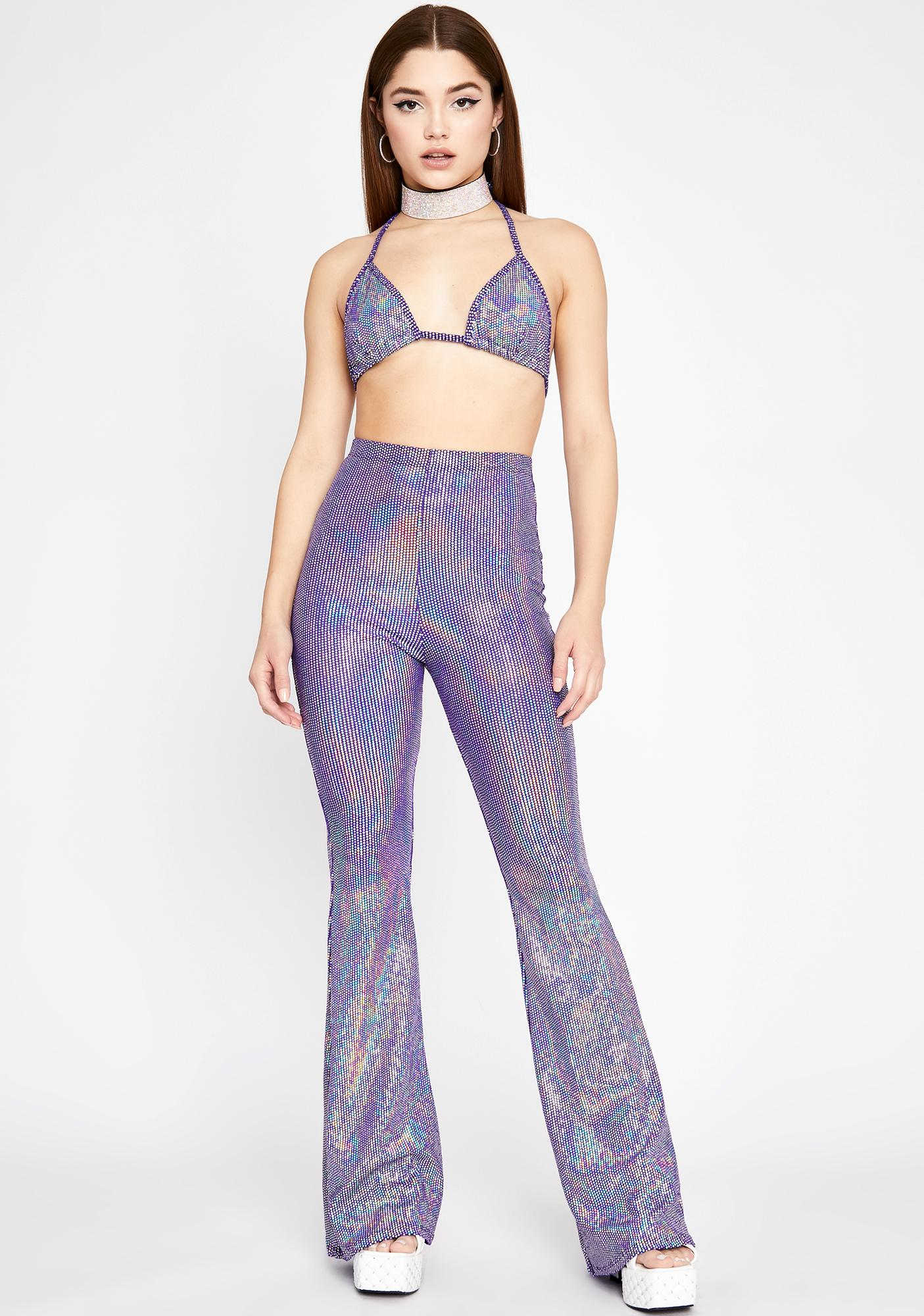 Magic Bursting Beats Flare Pant Set