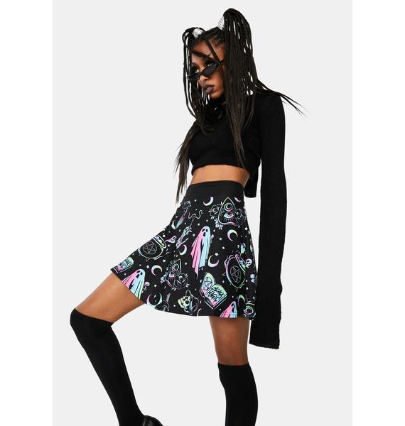 Too Fast OMG Ghost Skater Skirt