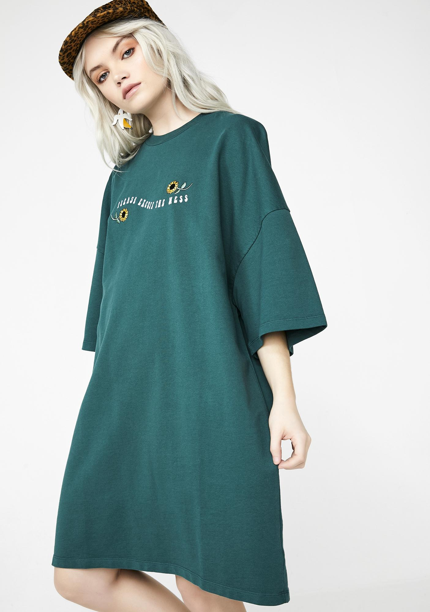 Lazy Oaf Excuse The Mess T-Shirt Dress