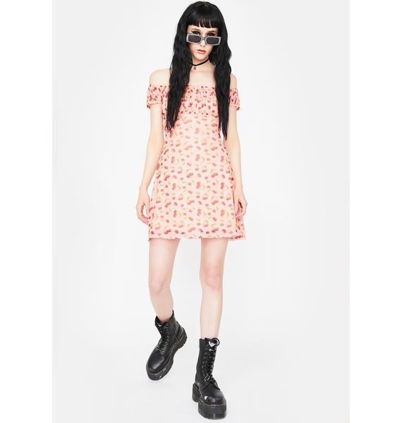 NEW GIRL ORDER Lolita Cherry Mini Dress