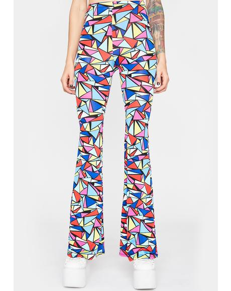Art Raver Flared Pants