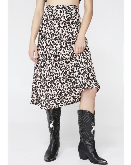 Pink Panther Tauri Midi Skirt