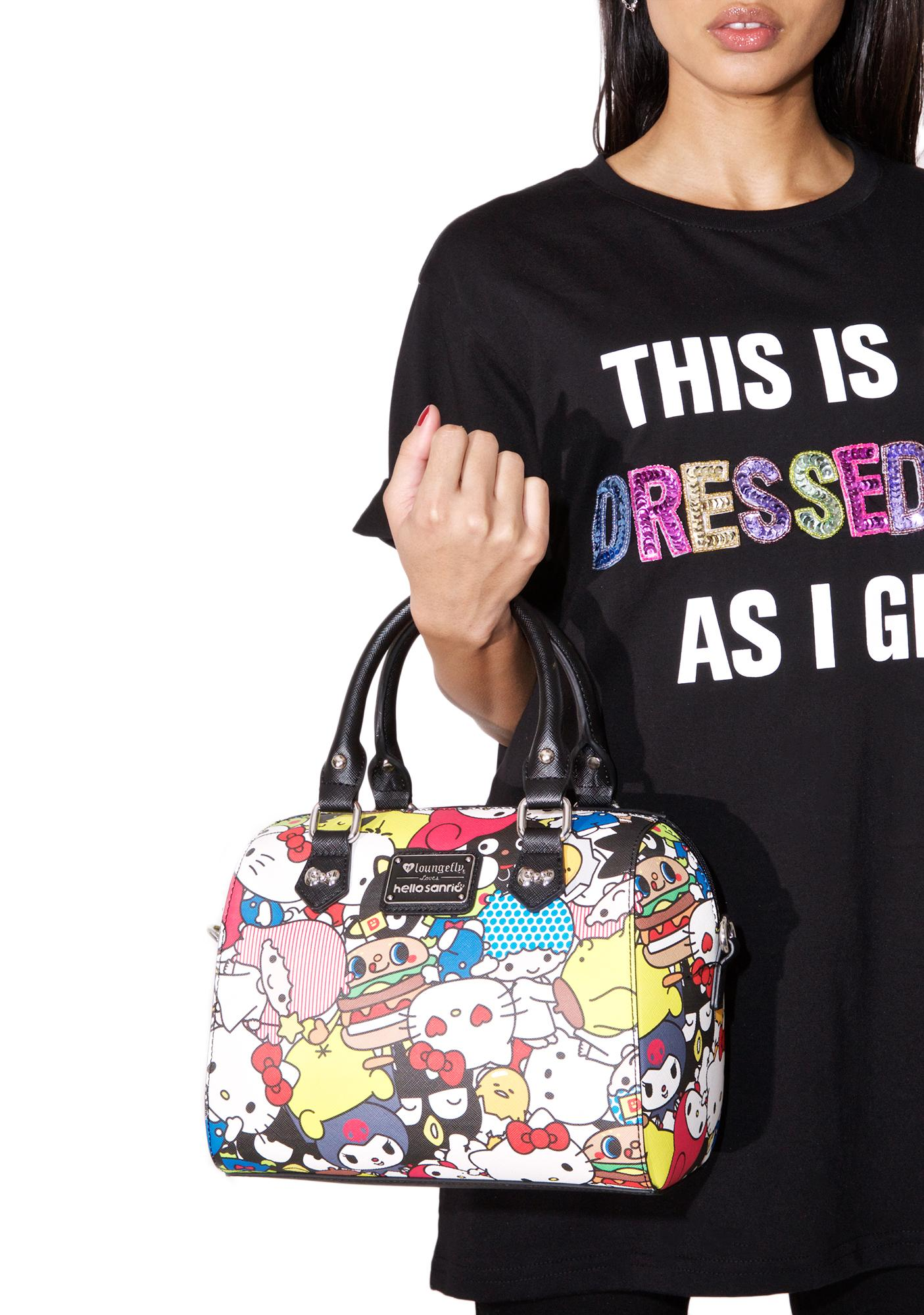 f5a3f98e9 Loungefly Hello Sanrio Duffle Bag | Dolls Kill