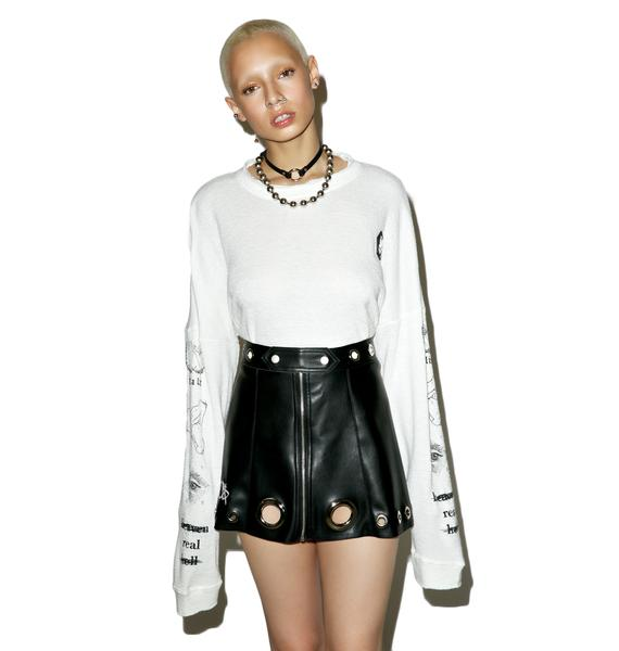 M.Y.O.B. Logo Mini Skirt