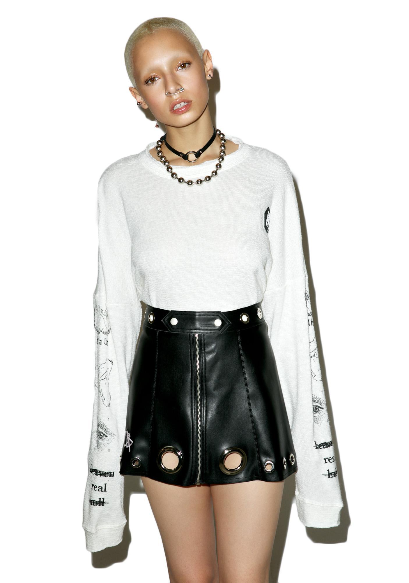 M.Y.O.B. Logo Mini Skirt