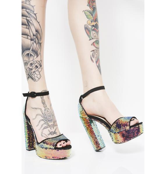 Issa Party Sequin Heels