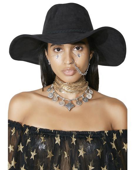 Aura Wide Brim Hat