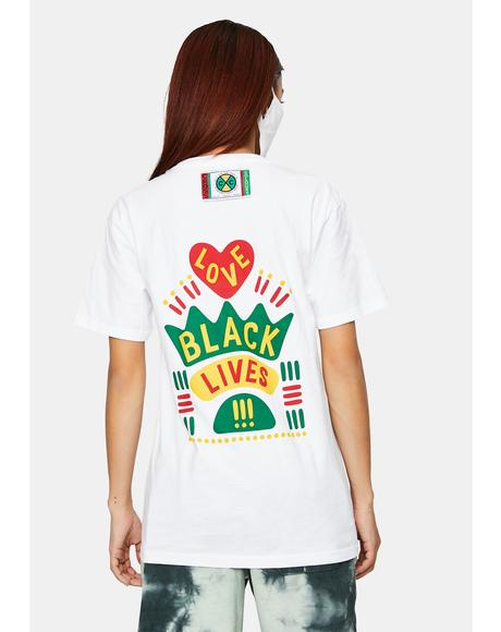Black Lives Are Loved Graphic T-Shirt