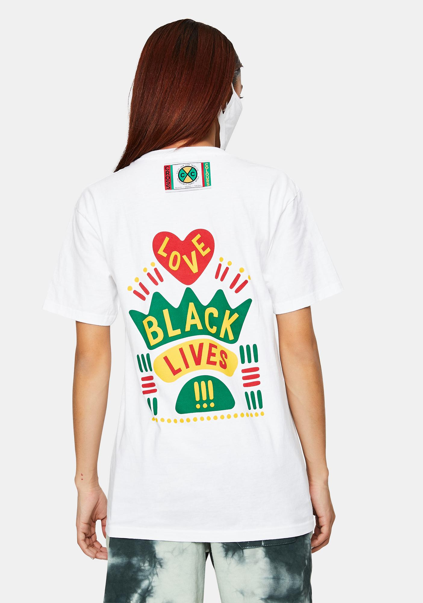Cross Colours Black Lives Are Loved Graphic T-Shirt