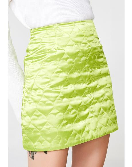 Kiwi Sweetheart Mini Skirt
