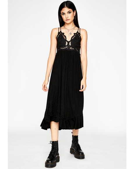 Dark Love Midi Dress