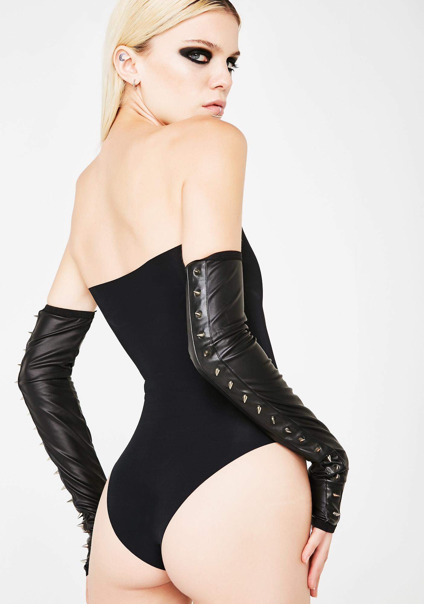 Kiki Riki Run The Show Strapless Bodysuit