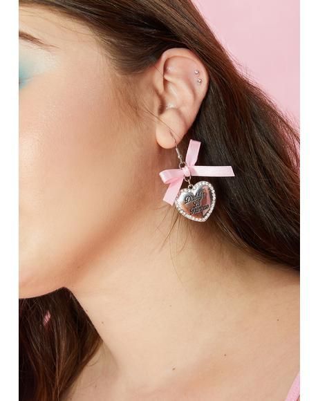 Baby's Birthday Earrings