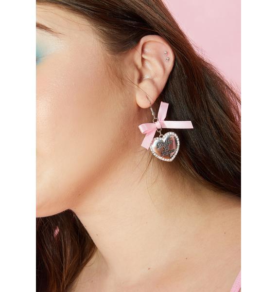 Baby's Birthday Earrings