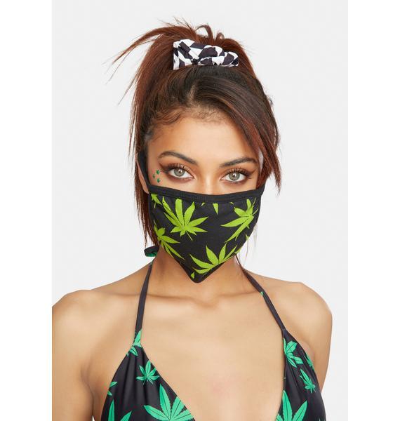 HUF Plantlife Face Mask