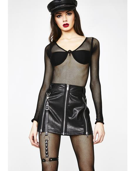Luna Dress To Slay Leg Harness